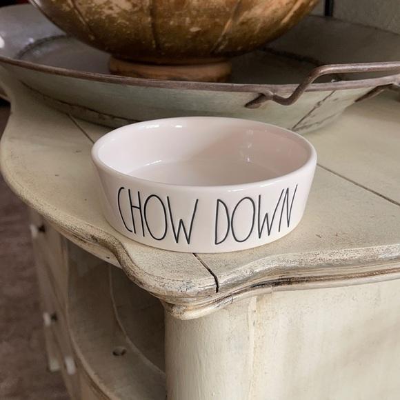Rae Dunn CHOW DOWN Small Bowl